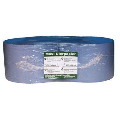 Maxi Papier pour Mamelles Large 21x36cm Bleu 2 Rouleaux