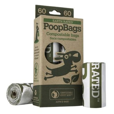 PoopBags Hundekotbeutel 6 St Kompostierbar 4x15