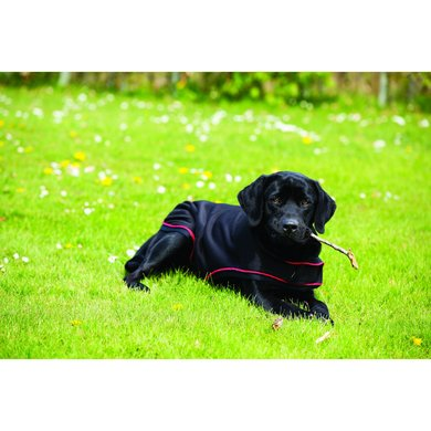 Rambo Ionic Dog Rug Black/Black Large