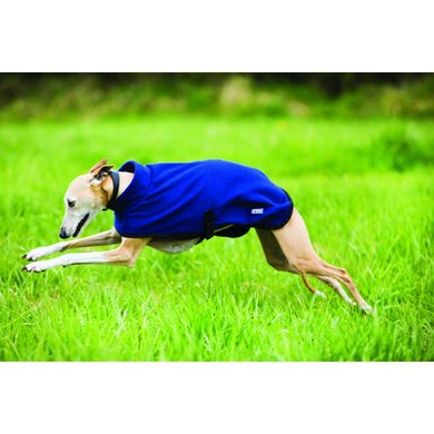 Amigo Fleece Dog Rug Navy/Blue Medium