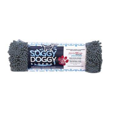 Soggy Doggy Slopmat Grau 45x61cm