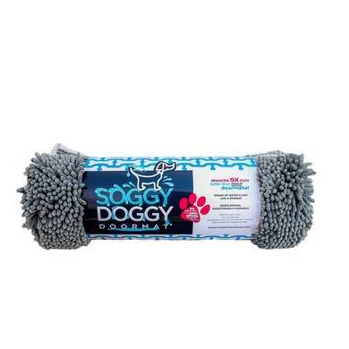 Soggy Doggy Doormat Grau Large 66x91cm