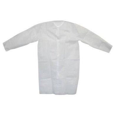 Agradi Einwegmantel Non Woven Weiß XL