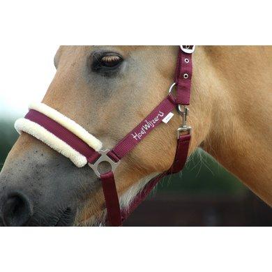 Hoefwijzer Halster met Touw Bordeaux Pony