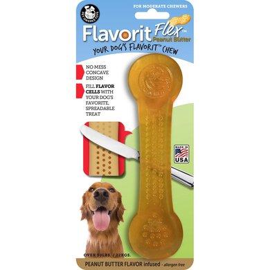 Pet Qwerks Flavorit Flex Peanut Butter Bone