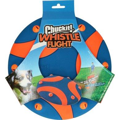 Chuckit Whistle Flight Oranje/Blauw 25cm