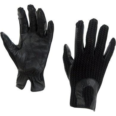 Horka Crochet Handschoen Zwart