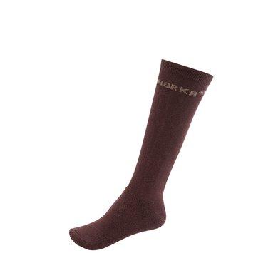 Horka Riding Socks Choco Brown