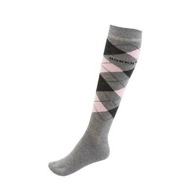 Horka Socken Grau/rosa