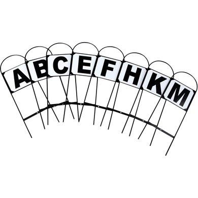 Horka Dressuur Letters Basis Set v 8 Zwart