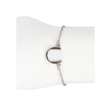 Horka Armband met Hoefijzer Zilver