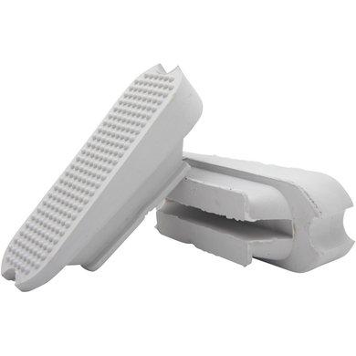 Horka Planchers d'Étrier Colliers Fillis A-symmetr Blanc