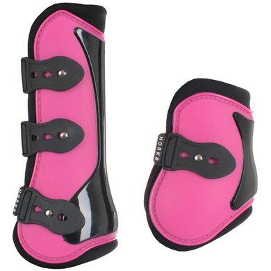 Horka PVC Beenbeschermers Set van 4 Pink