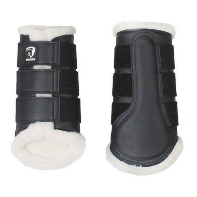 Horka Beenbeschermer Bont Zwart XL