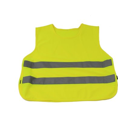 Horka Vest With Elastic Fluorescent And Reflective Yellow M