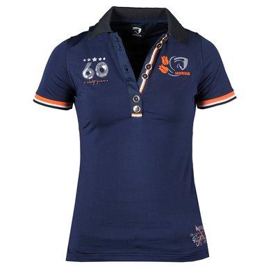 Horka Jersey Shirt Blauw XL