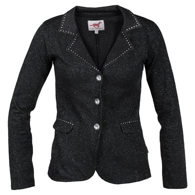 Red Horse Riding Jacket Pirouette Black