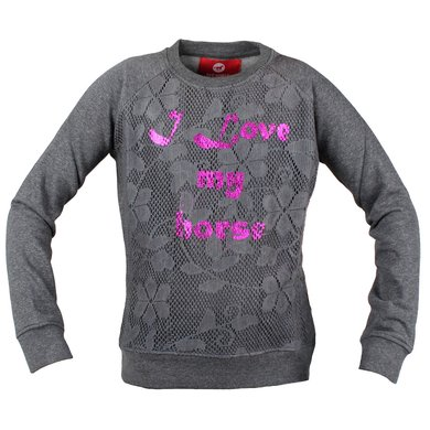 Red Horse Sweatshirt Sigma Antraciet 128