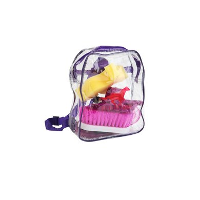 Red Horse Grooming Kit Purple