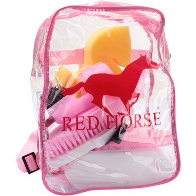 Red Horse Grooming Kit Hot Pink