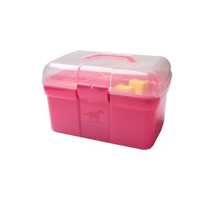 Red Horse Grooming Box Hot Pink
