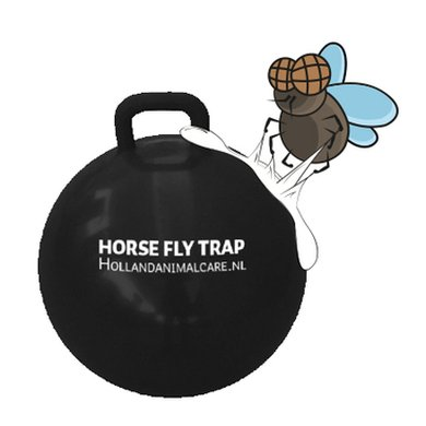 Horse Fly Trap Ball black