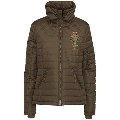 HV Polo Society Jacket Serena Dunkel Taupe