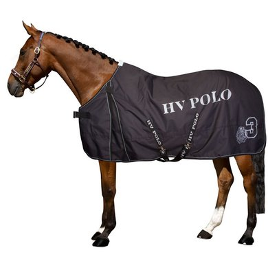 HV Polo Outdoordecke Favourit. Reflektierend Schwarz 125/175