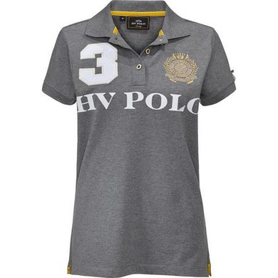 HV Polo Polo Favouritas M EQ SS Grey Melange