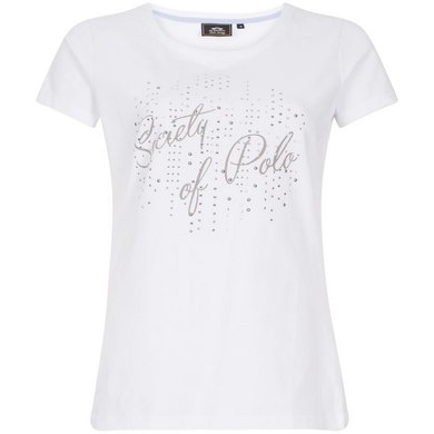 HV Polo T-Shirt Julietta Optical White L