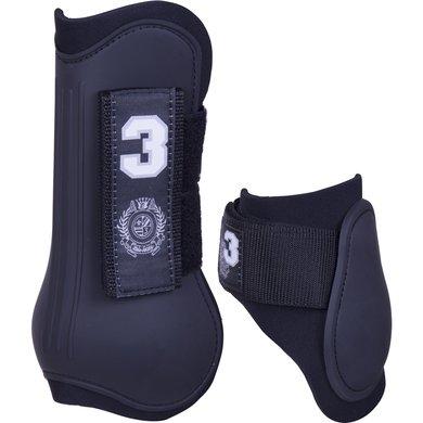 HV Polo Leg Protector Set Favouritas Black Cob