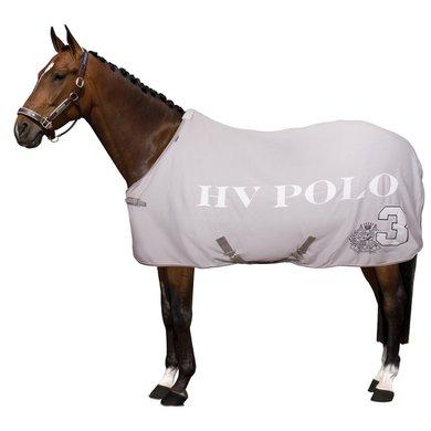 HV Polo Abschwitzdecke Favour. mit Gurten Silbergrau 125/175
