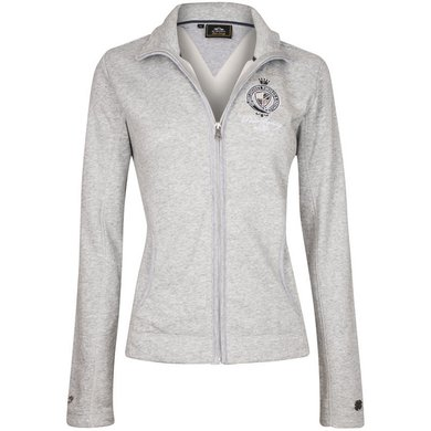 HV Polo Sweat Jacket Arela Silvergrey Melange M