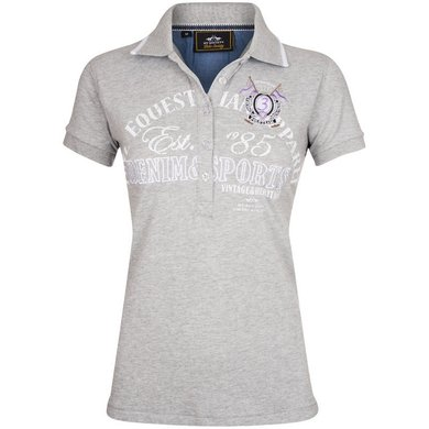 HV Polo Polo Shirt North Silvergrey Melange M