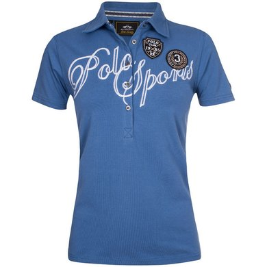 HV Polo Polo Shirt Azura Ink Blue M