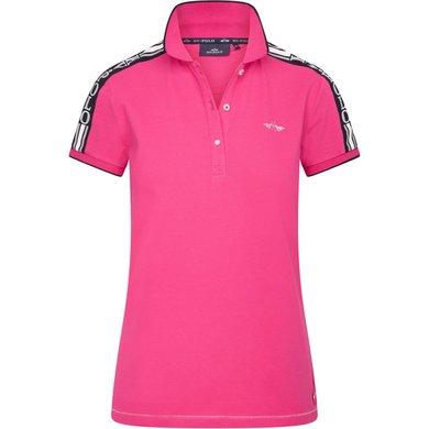 HV Polo Polo Shirt Christobal Neon Fuchsia L