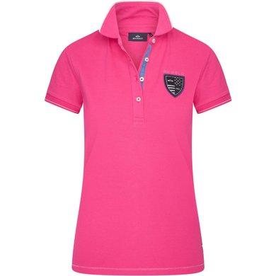 HV Polo Polo Shirt Britain Neon Fuchsia M
