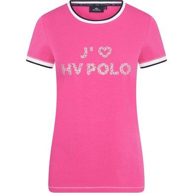 HV Polo T-Shirt Jadore Neon Fuchsia XL