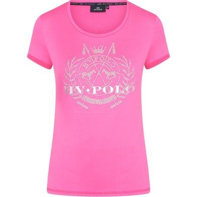 HV Polo T-Shirt Favouritas Stud Neon Fuchsia XL
