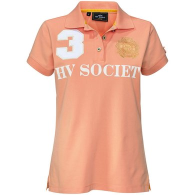 HV Polo Society Polo Favouritas F SS Peach XXL