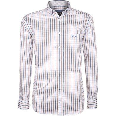 HV Polo Society Shirt Tymen Brown-White L