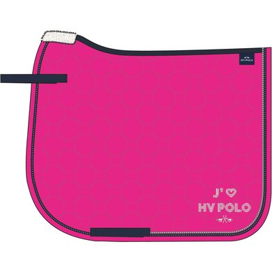 HV Polo Zadeldekje Jadore Neon Fuchsia Full