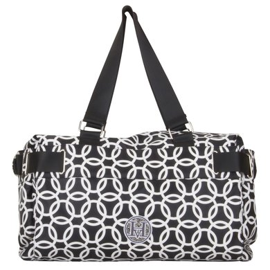 HV Polo Society Shoppertas met print Kimberley Black