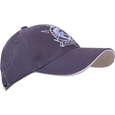 HV Polo Society Baseball Cap Armon Charcoal
