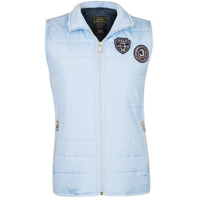 HV Polo Bodywarmer Flora Light Blue XXL
