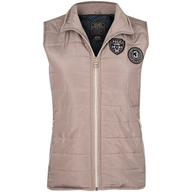 HV Polo Bodywarmer Flora Light Taupe L