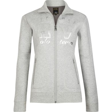 HV Polo Cardigan Birch Grey S