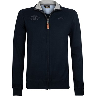 HV Polo Society Cardigan William Navy M