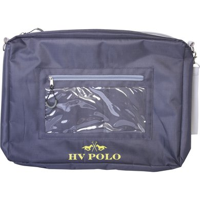 HV Polo Society Documents Map Event Charcoal