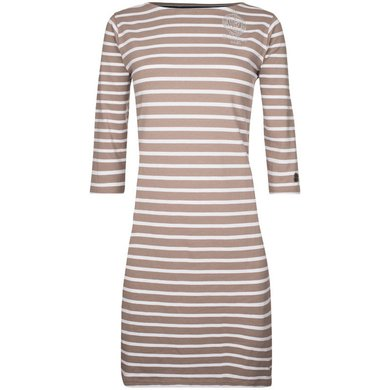 HV Polo Society Dress Benson Light Taupe XL